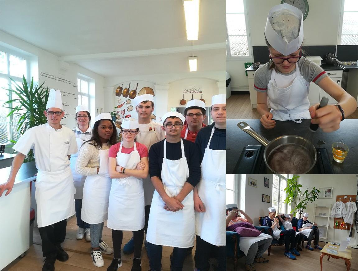 Apajh yvelines cuisine des chefs en normandie pour les - Formation chef de cuisine ...